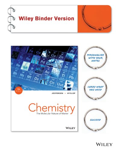Chemistry The Molecular Nature of Matter 7th 2014 edition cover
