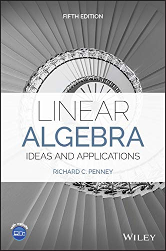 Cover art for Linear Algebra: Ideas and Applications, 5th Edition