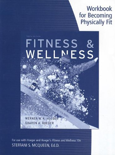 Fitness and Wellness  10th 2013 edition cover