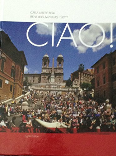 Ciao!  8th 2014 9781285481920 Front Cover