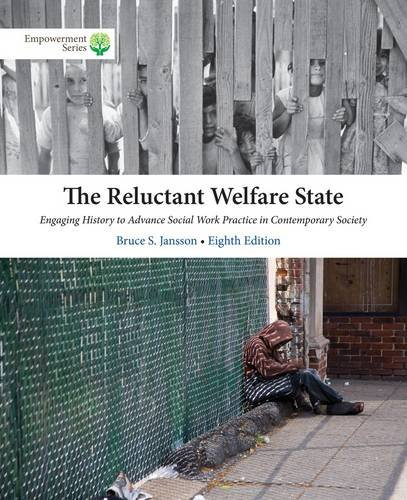 The Reluctant Welfare State + Coursemate Printed Access Card:   2014 edition cover