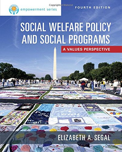 Social Welfare Policy and Social Programs:   2015 edition cover