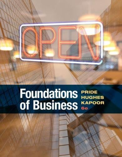 Foundations of Business:   2018 9781337386920 Front Cover