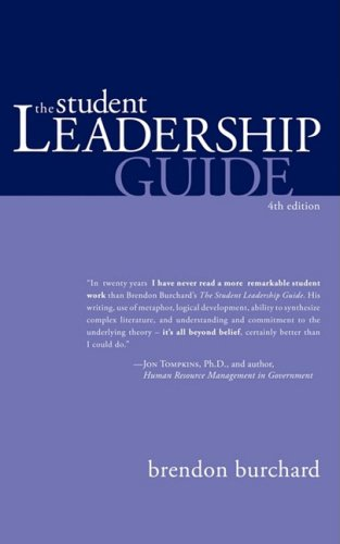 Student Leadership Guide  N/A edition cover
