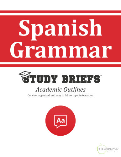 Spanish Grammar   2015 9781634261920 Front Cover
