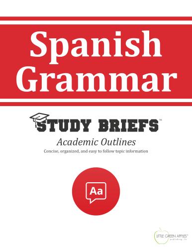 Spanish Grammar cover