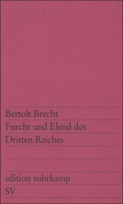 FURCHT UND ELEND DES DRITTEN R 1st edition cover