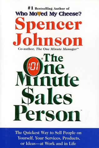 One Minute Sales Person   1984 edition cover
