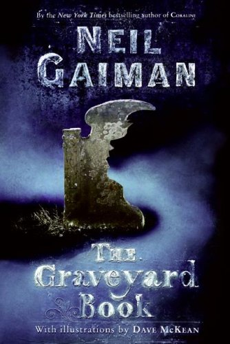 Graveyard Book   2008 edition cover