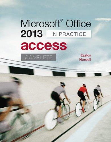 Microsoft Office Access 2013 Complete: in Practice   2014 edition cover