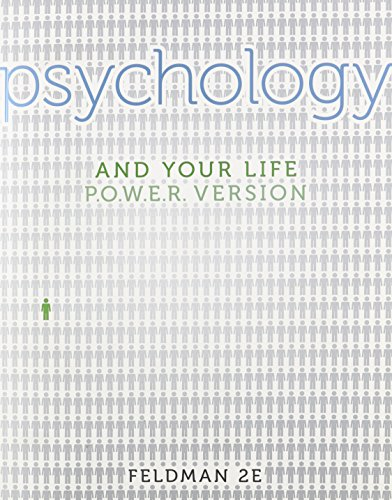 PSYCHOLOGY+YOUR LIFE,P.O.W.E.R.VERSION N/A 9780077527921 Front Cover