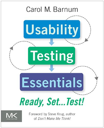 Usability Testing Essentials Ready, Set... Test!  2010 edition cover