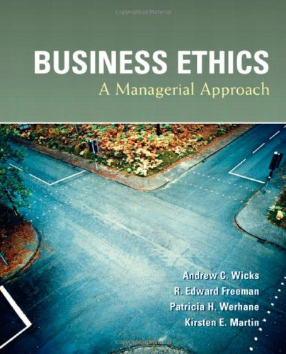 Business Ethics   2010 edition cover