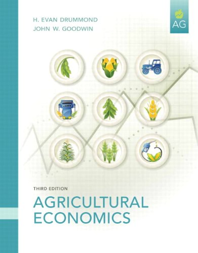 Agricultural Economics  3rd 2011 edition cover