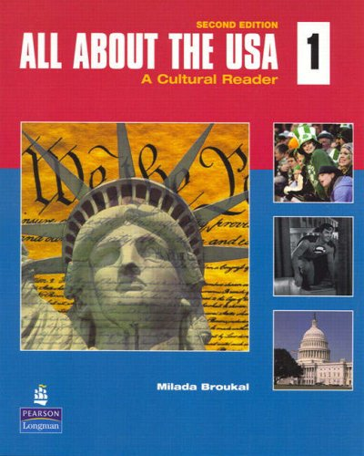 All about the USA 1 A Cultural Reader 2nd 2008 edition cover