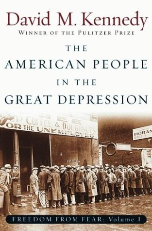 American People in the Great Depression Freedom from Fear  2003 edition cover