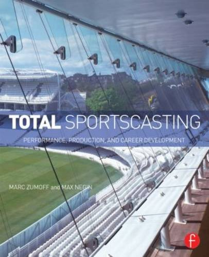 Total Sportscasting Performance, Production, and Career Development  2015 edition cover