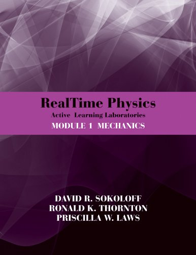 RealTime Physics: Active Learning Laboratories, Module 1 Mechanics 3rd 2012 9780470768921 Front Cover