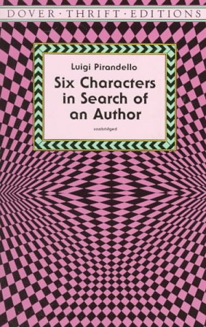 Six Characters in Search of an Author  Unabridged  edition cover