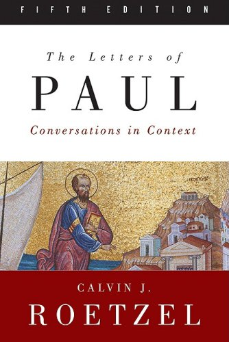 Letters of Paul, Fifth Edition Conversations in Context 5th 2009 edition cover