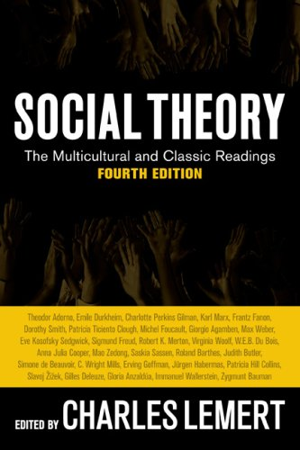 Social Theory The Multicultural and Classic Readings 4th 2009 edition cover