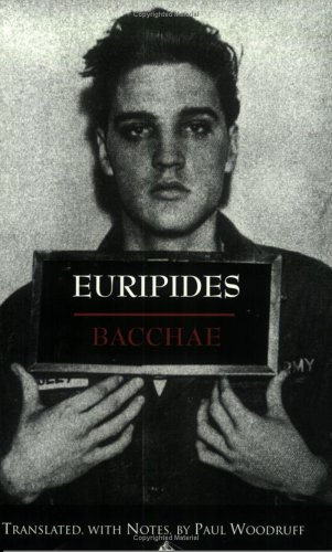Bacchae In a New Translation by Nicholas Rudal  1998 edition cover