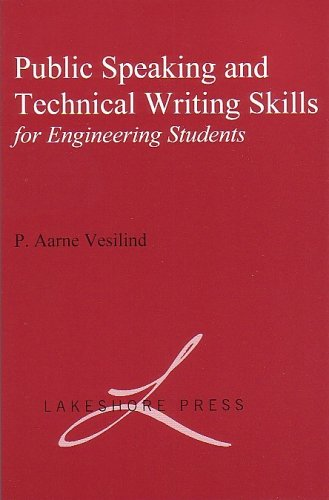 Public Speaking and Writing Skills for Engineering Students 1st 9780965053921 Front Cover