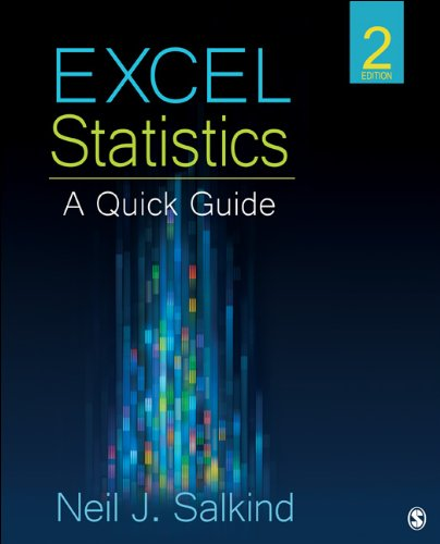 Excel Statistics  2nd 2013 edition cover