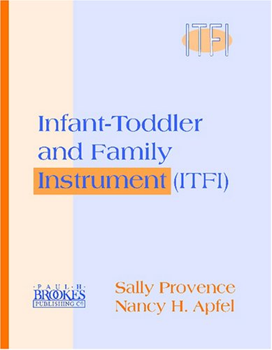 Infant-Toddler and Family Instrument (ITFI)   2001 edition cover