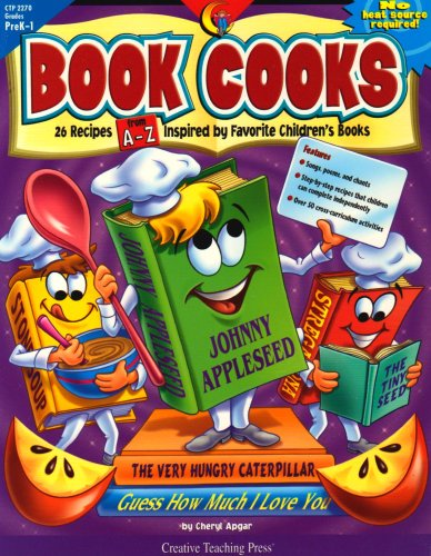 Book Cooks : 26 Step-by-Step Recipes Using Favorite Children's Books  2002 edition cover