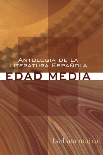 Antologia de la Literatura Espanola Edad Media N/A edition cover