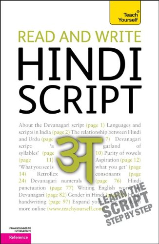 Read and Write Hindi Script  2nd 2011 9780071759922 Front Cover