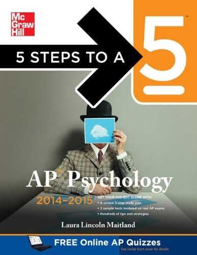 AP Psychology 2014-2015  5th 2013 edition cover
