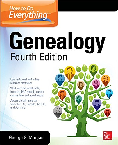 How to Do Everything Genealogy:   2015 edition cover