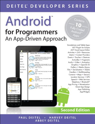 Android for Programmers An App-Driven Approach 2nd 2014 edition cover