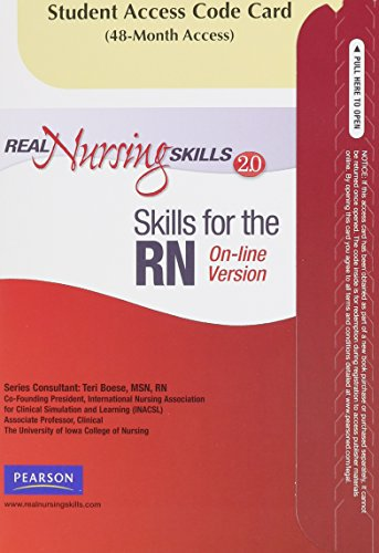 Real Nursing Skills 2.0  2nd 2010 edition cover