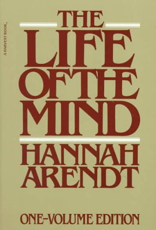 Life of the Mind   1981 edition cover