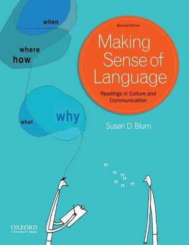 Making Sense of Language Readings in Culture and Communication 2nd edition cover