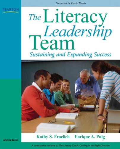 Literacy Leadership Team Sustaining and Expanding Success  2010 edition cover