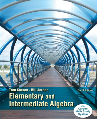 Elementary and Intermediate Algebra, Plus NEW MyMathLab with Pearson EText -- Access Card Package  4th 2015 edition cover