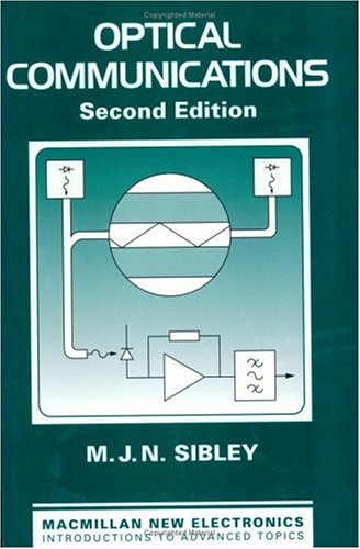 Optical Communications  2nd 1995 edition cover
