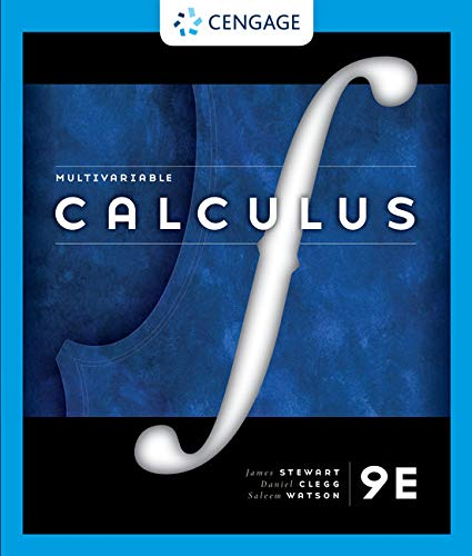 Cover art for Multivariable Calculus, 9th Edition