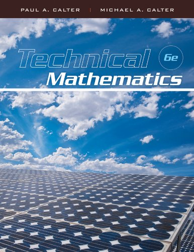 Technical Mathematics  6th 2011 edition cover