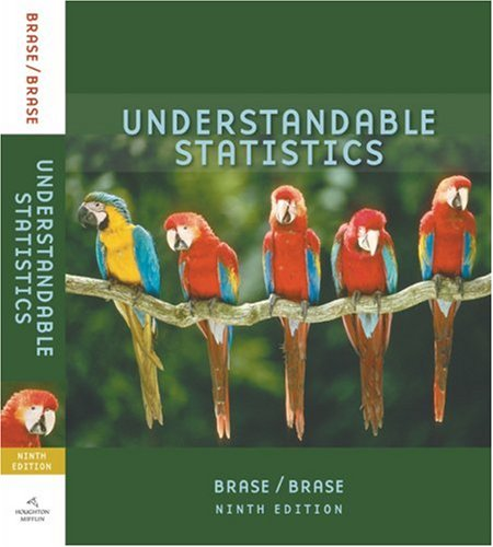 Understandable Statistics Concepts and Methods 9th 2009 edition cover
