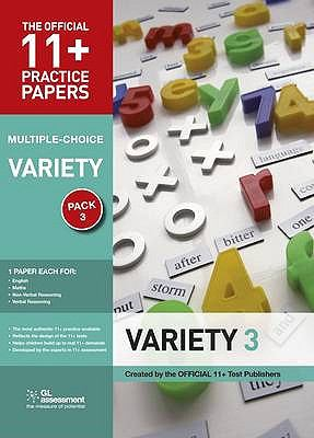 11+ Practice Papers, Multiple-choice Variety Pack 3 (11+ Practice Papers) N/A edition cover