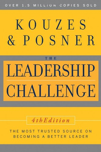 Leadership Challenge  4th 2007 edition cover