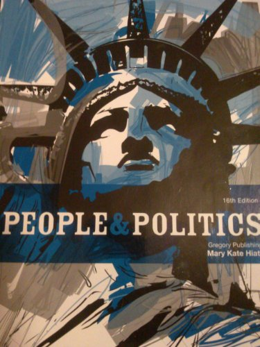 People and Politics  16th edition cover