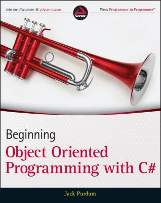 Beginning Object-Oriented Programming with C#   2013 edition cover