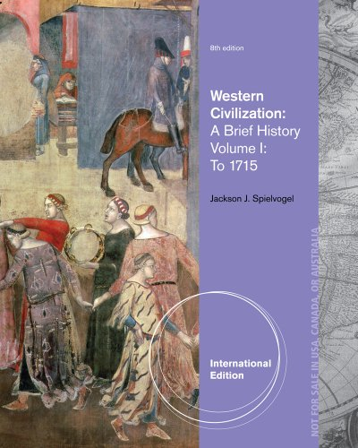 Western Civilization A Brief History, Volume I: To 1715 8th 2014 edition cover