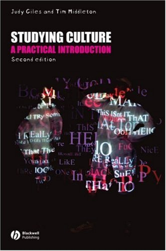 Studying Culture A Practical Introduction 2nd 2007 (Revised) edition cover
